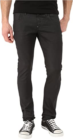 G-Star Revend Super Slim in Black Pintt Stretch Denim 3D Dark Aged