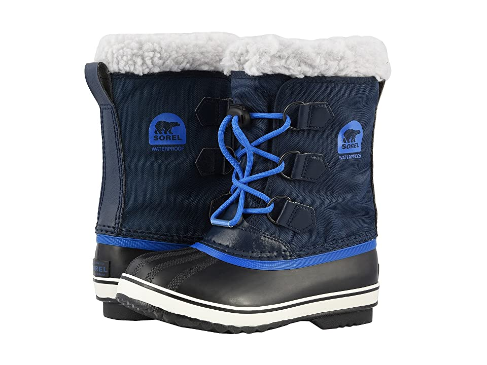 SOREL Kids Yoot Pactm Nylon (Toddler/Little Kid) (Collegiate Navy/Super Blue) Boys Shoes