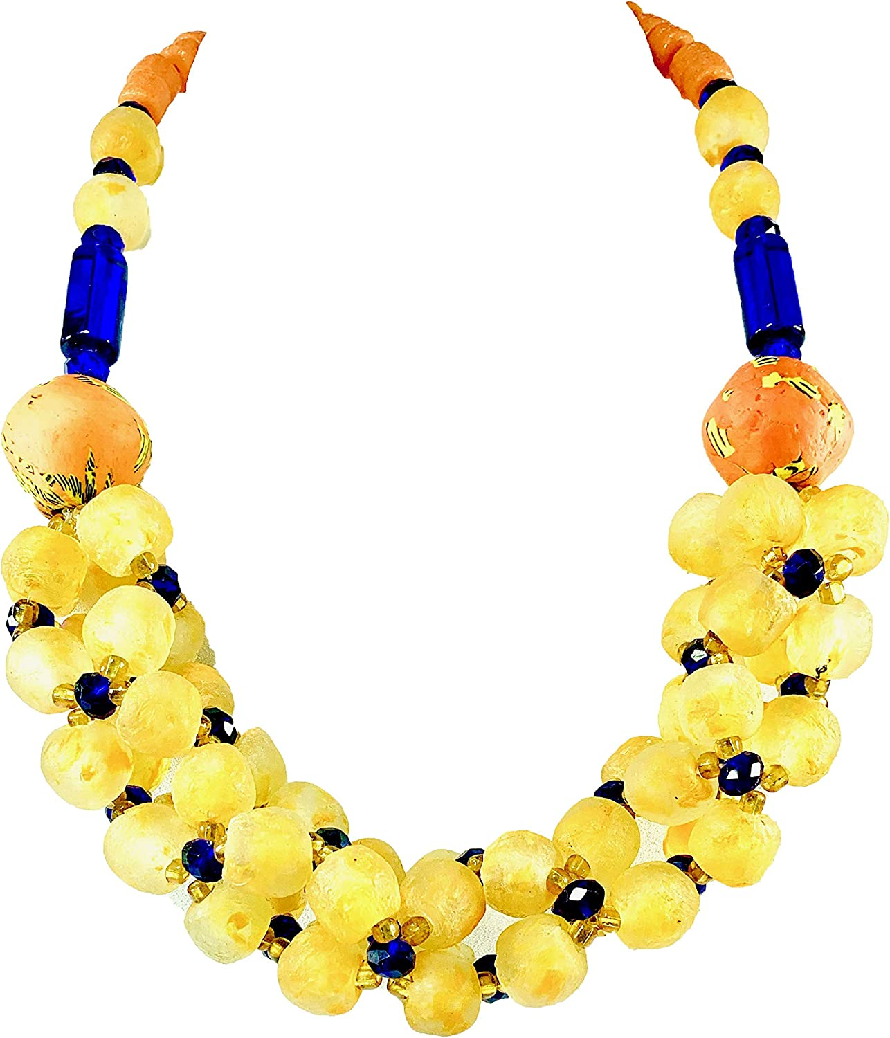 Sophia Dor Oracle Glass Bead Necklace with Bracelet and Earring Set