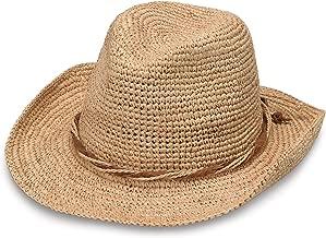 Wallaroo Hat Company Women's Hailey Cowboy Hat – Raffia, Modern Cowboy, Designed in Australia