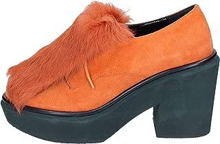 Paloma Barcelo Oxfords Womens Suede Orange