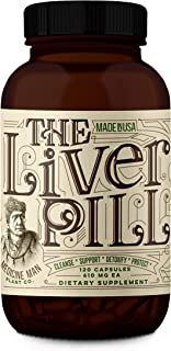 Medicine Man Plant Co. - The Liver Pill: Cleanse, Support, Detoxify, Protect - Natural Health - Milk Thistle Extract, Burd...