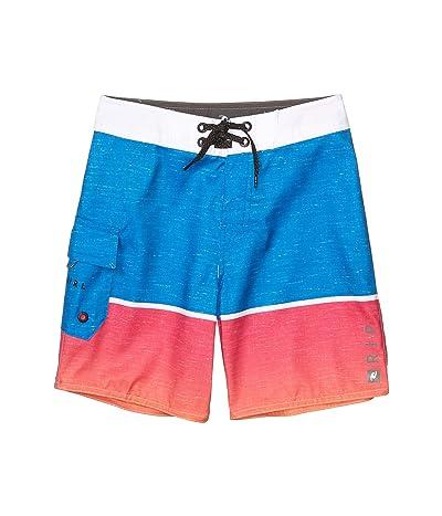 Rip Curl Kids Dawn Patrol Boardshorts (Big Kids) (Pink) Boy