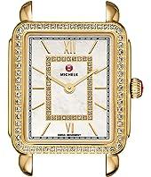 Michele - 16mm Deco II Mid-Size Diamond Gold, Diamond Dial