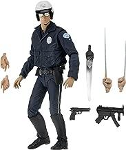NECA Ultimate T-1000 Motorcycle Cop Terminator Scale Action Figure, 2-7