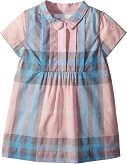 Burberry Kids Taylor Short Sleeve Collared Dress (Infant/Toddler)