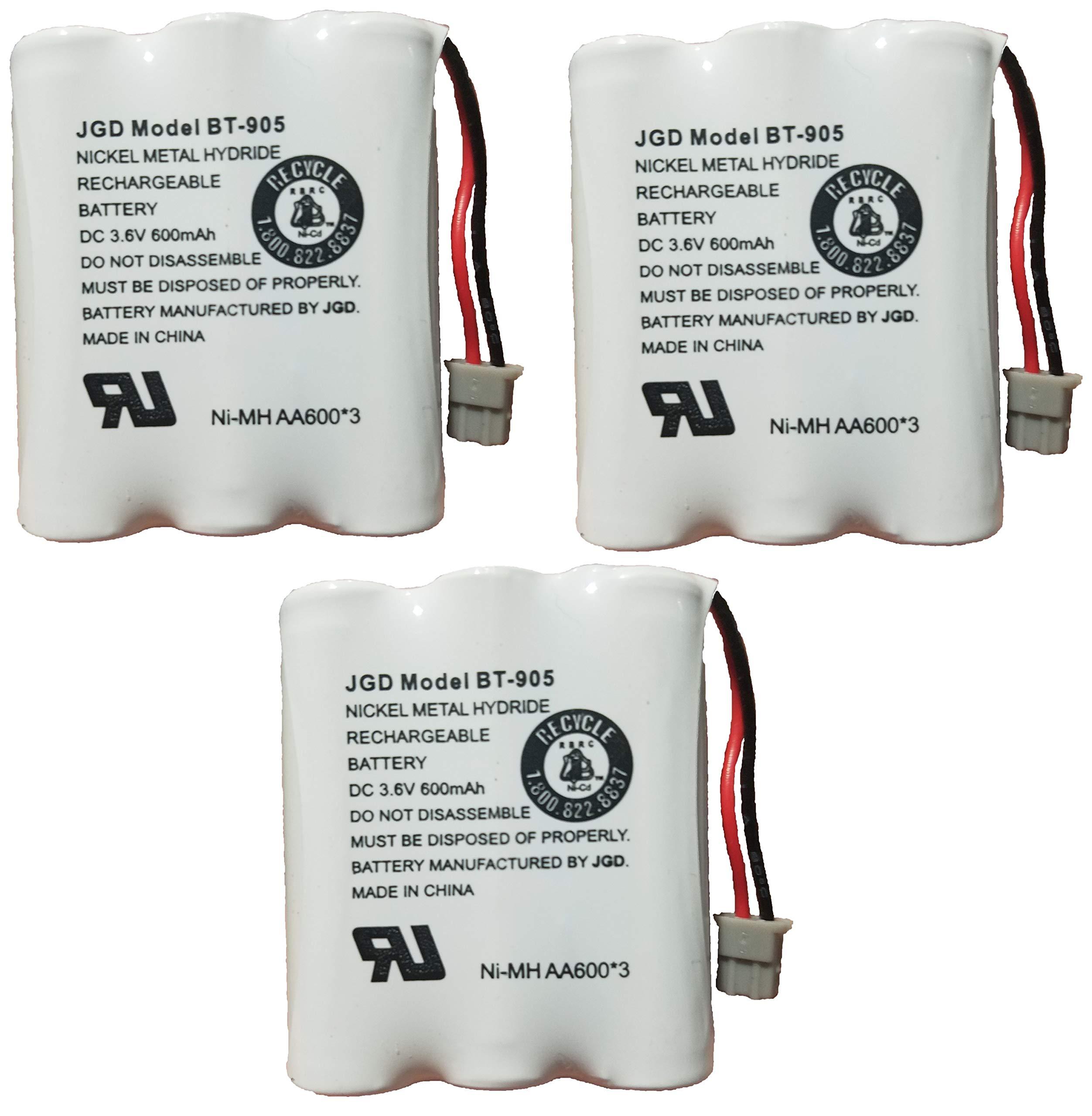 3 Bateria P/ Uniden BT905 BT800 BT-1006 BP-905 BBTY-0444001