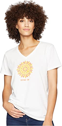 Shine On Sun Crusher Vee T-Shirt