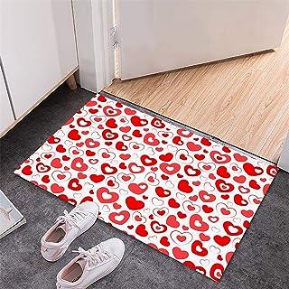BISXOTY Mother's Day Mat,Easter Day Decoration Doormats,Anti-Skid Bottom Floor Mat,Indoor Outdoor Carpet,Entrance Mat,Non-...