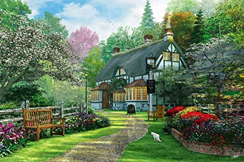 1000 piece afternoon tea cottage 1000-751 (japan import)