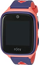 OJOY A1 Kids Smart Watch | Android Smart Watch for Kids | 4G LTE GPS Watches for Boys and Girls | Safety Gizmo Watch | Step Counter & School Mode | with iOS & Android App (Purple/Pink)