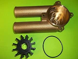 All Metal Raw Water Sea Pump Impeller Housing 3858115 Volvo Penta 4.3 5.0 5.7