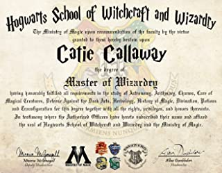 Best hogwarts diploma and wand Reviews