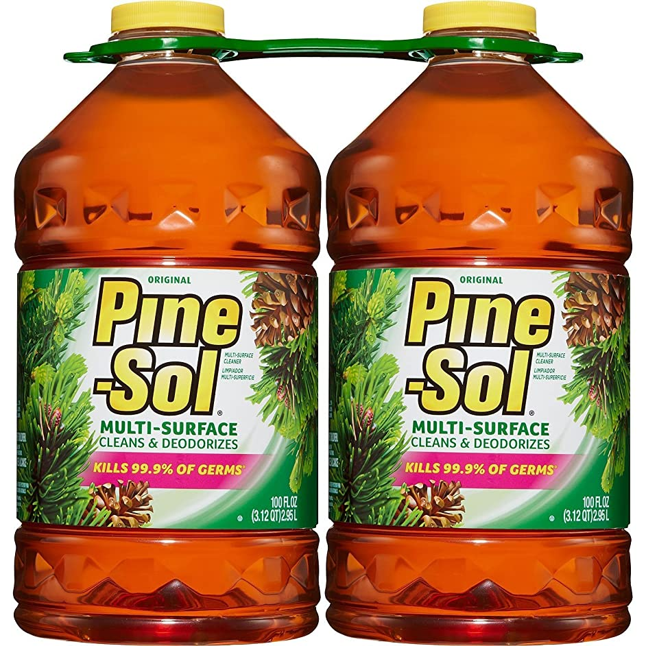Pine-Sol Multi-Surface Cleaner, Pine Scent (100 oz., 2 pk.) - (Original from manufacturer - Bulk Discount available)