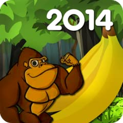 Banana King Kong 2014 is completely free! Easy to play! Swipe left and right to avoid obstacles and grab the bananas. Score as high as you can while you dash through the forest.