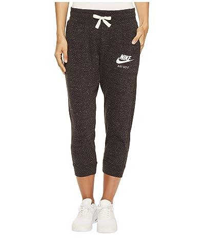 Nike Sportswear Gym Vintage Capri (Black/Sail) Women