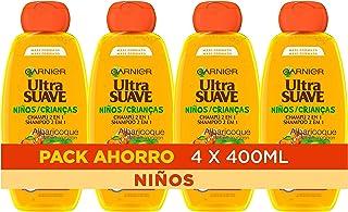 Garnier Original Remedies Ultra Suave Albaricoque Champú Suave para Niños - 4x400 ml