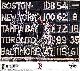 Andrew Benintendi Boston Red Sox 2018 MLB World Series Champions Artist and Player Signed 8