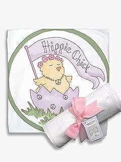 Light of Mine Designs Hippie Chick Receiving/Swaddling Blanket