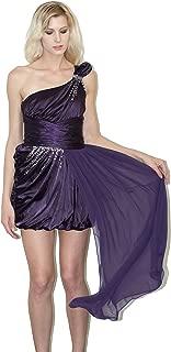 Nox Anabel Nox Dresses Narianna Greek Goddess Style one Shoulder Bridesmaid Dress high Low Prom Dress, Homecoming Dress