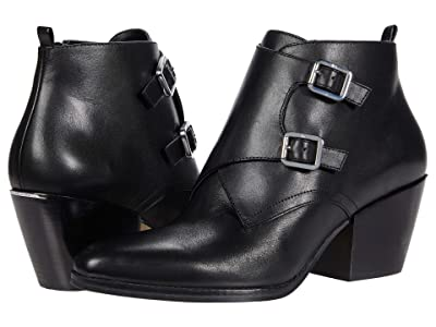 MICHAEL Michael Kors Loni Ankle Bootie (Black) Women