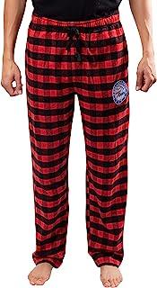 Ultra Game NBA Men's Sleepwear Super Soft Flannel Pajama Loungewear Pants