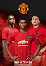 Manchester United FC 2020 Calendar - Official A3 Month to View Wall Calendar