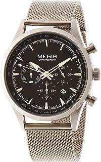 ساعة اليد جينتس للرجال من ميجر - MS2153G/BK-1A