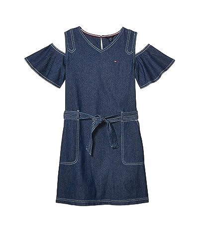 Tommy Hilfiger Kids Denim Dress (Big Kids) (Tompkins Wash) Girl