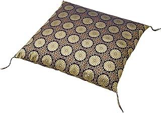 コモライフ 金襴法要座布団カバー 日本製 八端判 甲州織 法事 法要 仏事 お寺用 被せるだけ