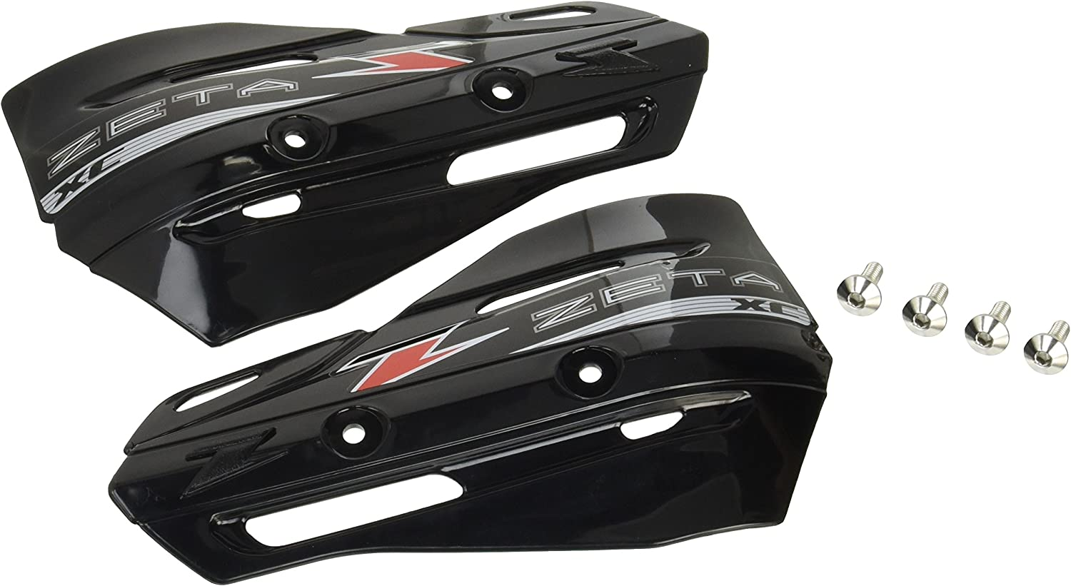 Selling and selling Zeta San Jose Mall XC Protector BLACK Hand Armor Handguards for Pair Shields