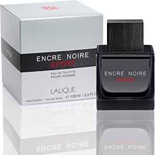 Lalique Encre Noire Sport - perfume for men, 100 ml - EDT Spray