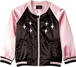 Black/Pink Satin
