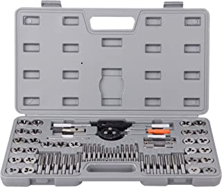 60 pcs Metric and SAE Alloy Standard Tap and Die Set