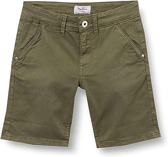 Pepe Jeans Blueburn Short Pantalones Cortos para Niños
