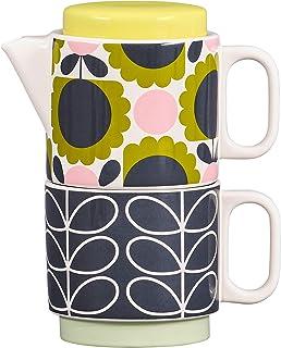 Orla Kiely OK616 Tea One-Scallop Flower Forest Teekanne, keramik