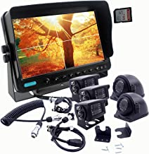 $526 » Sponsored Ad - CAMSLEAD The 5th Wheel Camping Trailer Truck Camera Monitor System Build-in DVR Recorder with Quad Split Sc...