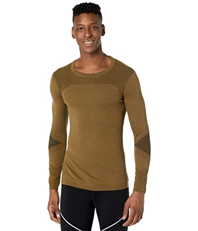 Smartwool Intraknit Merino 200 Crew (Military Olive/Black) Men