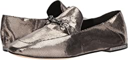 Light Pewter Antique Metallic Leather