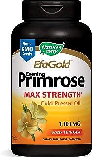 Nature's Way EfaGold Evening Primrose, Cold Pressed Oil 1300mg, 120 Softgels