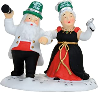 Department 56 North Pole Ringing in The New Year Figurine Village Accessory, Multicolor