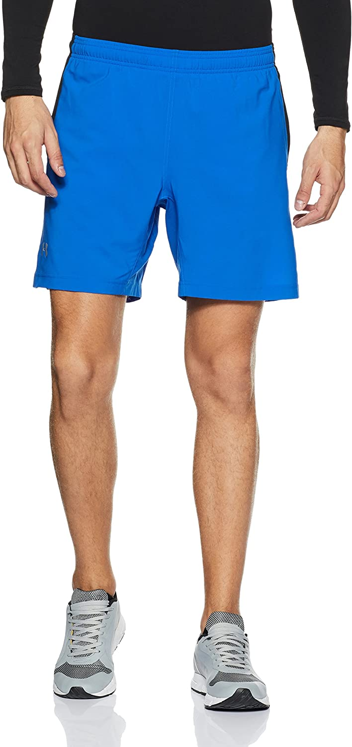 Under Armour Men's Launch 2-in-1 Shorts, 青 Marker (789)/Reflective, XX-Large