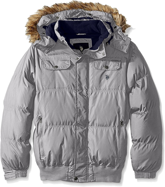 U.S. Polo Assn. Men's Short Snorkel Jacket with Polar Fleece Lining - Colors
