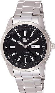 Seiko 5 Men's Mechanical Watch Silver SNKN13J1