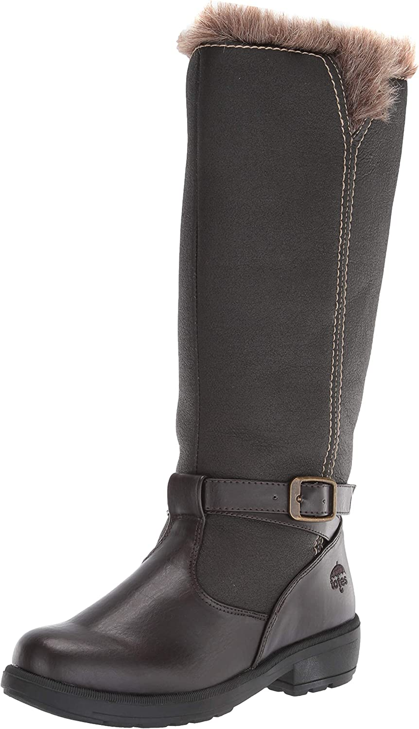 totes Women's Esther Knee High Snow Boot, Available in Medium and Wide Width and Calf