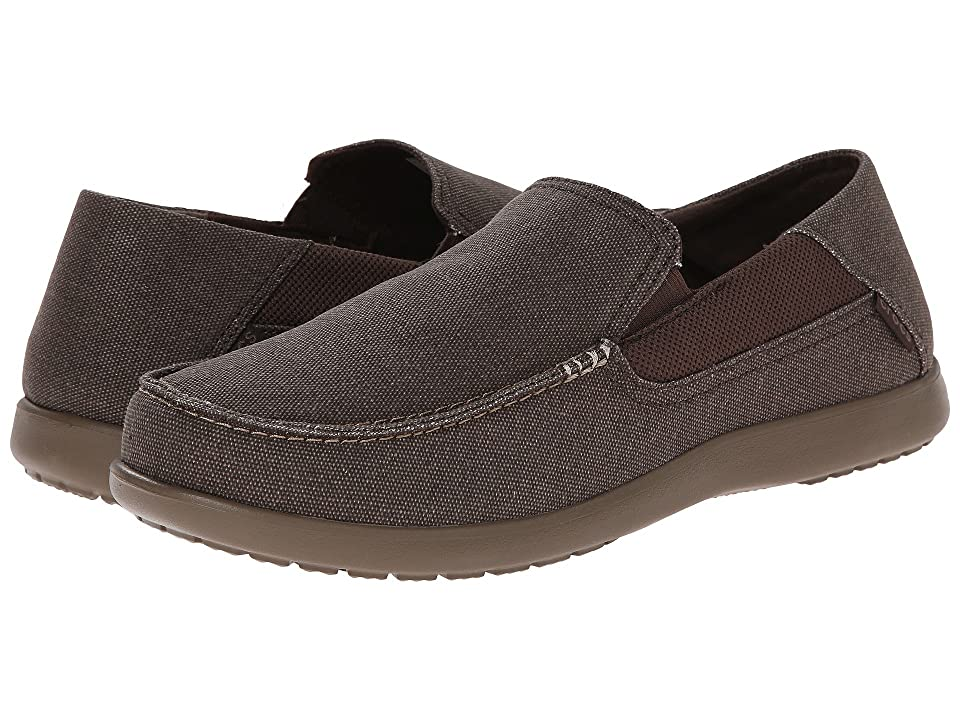 Crocs Santa Cruz 2 Luxe (Espresso/Walnut) Men