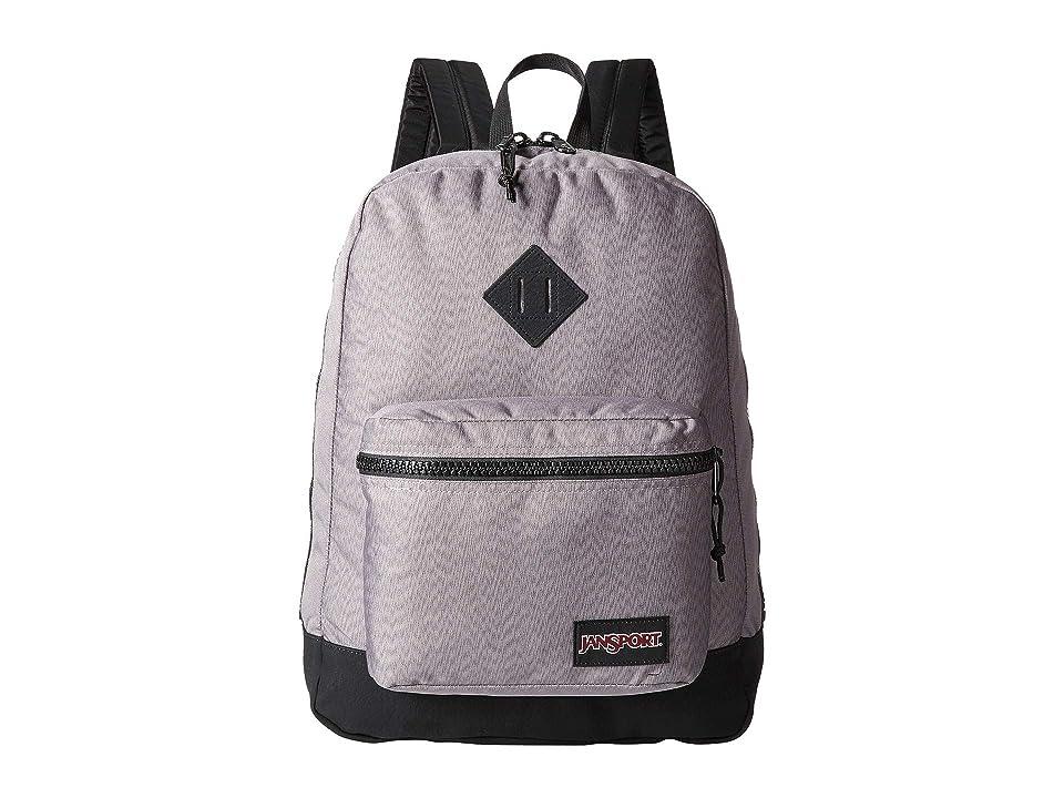 JanSport Super FX (Grey Optic Zigzag) Backpack Bags