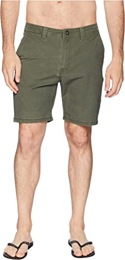 "Zap SNT Faded 19"" Hybrid Shorts"