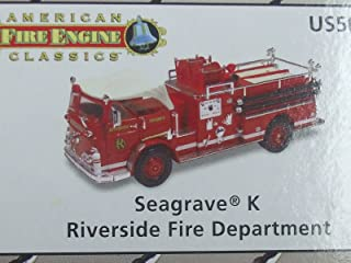 Corgi American Fire Engine Classics - Seagrave K - Riverside Fire Department - US50811