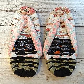 Jam's Ukulele GYE-022-42/ 布ぞうり(22cm) 草履 スリッパ 部屋履き ハンドメイド 手作り プレゼント